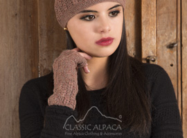 Chiara Crocheted Fingerless Gloves