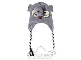 Alpaca Kids - Elephant Hat with Ear Flaps