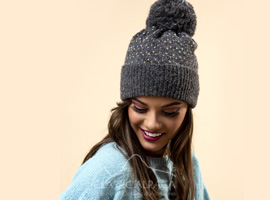 Snowfall Brushed Alpaca Hat