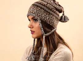 Mara Alpaca Hat with Ear Flaps
