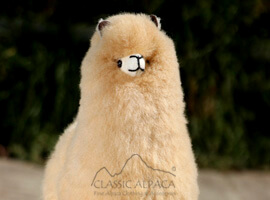 Baby Alpaca Fur-Peruvian Ornament 12 inches