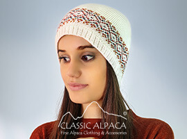Lille Alpaca Knit Hat - Fleece Lining