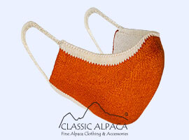 Baby Alpaca-Cotton Knitted Mask