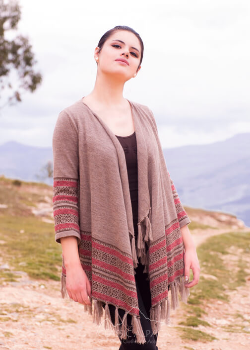Woodstock Alpaca Long Cardigan