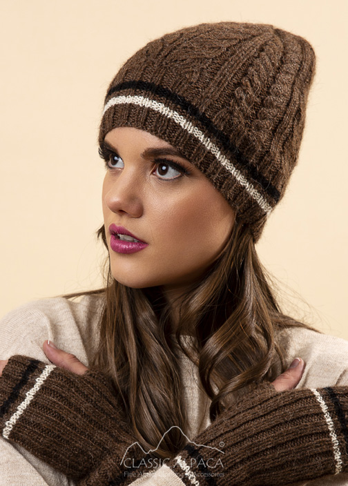Angelle Alpaca Knit Hat