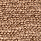 Double Knit English Alpaca Hat in Beige
