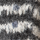 Utah Brushed Alpaca Fingerless Gloves in Charcoal