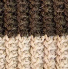 Knitted Alpaca Hat with Flower Bow in Olive-Beige